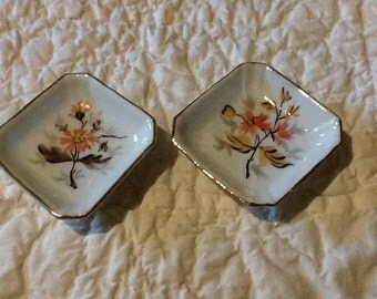 Victoria Pottery trinket dishes