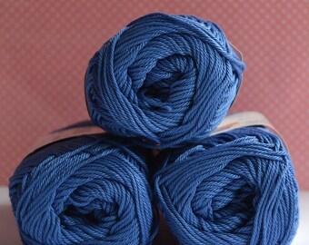 Catania yarn - Schachenmayr / 261 Regatta / Worldwide Shipping / Crochet and Knitting Yarn / 1 ball/50g