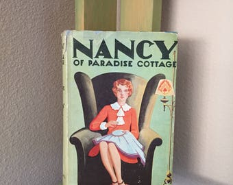 Vintage Book Nancy of Paradise Cottage / Shirley Watkins / 1921