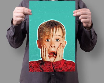 "Home Alone Kevin McCallister ""AAHHHHHHHH"" 11x17 Poster"