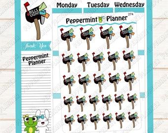 Bills Ugh ---- Hand Drawn --- Planner Stickers --- 274