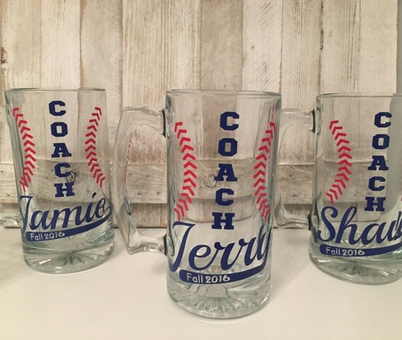 Custom Coach Mugs Custom Baseball coach Mugs Coach gifts