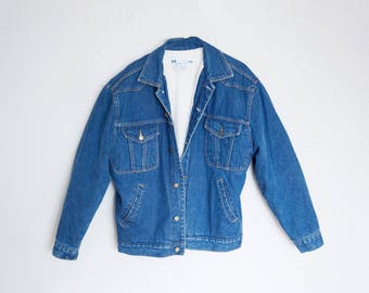 Wool Lined Denim Jacket