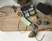 Travel soap, samples, nat...
