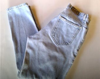 Vintage LEE High Waisted Mom Jeans - Size 13M