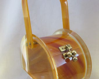 Reserved for Karen - Vintage Fabulous Lucite Purse