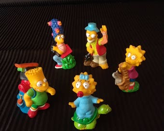 Simpsons Burger King Toys