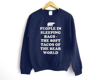 Camping Sweater - Fishing Sweater - Funny Sweatshirt - Camping Sweater - Bear Sweater - Hiking Shirt - Dad Sweater - Camping Shirt