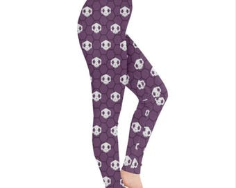 Sombra Leggings - Overwatch Leggings Olivia Colomar Leggings Plus Size Leggings Video Game Leggings Infiltrator Leggings Hacker Leggings