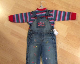 Chucky Costume 12-18m Childs Play Good Guy