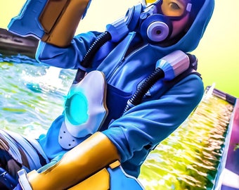 Overwatch Graffiti Tracer Cosplay Print (Signed)