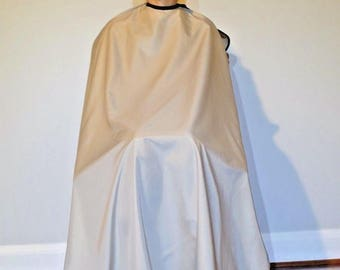 "TrendingTools2 Velcro Hair Cutting Cape Hairdresser Barber Gown Stylist ""Khaki"" Size-Large"