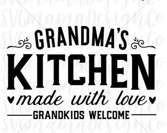 kitchen quote svg etsy