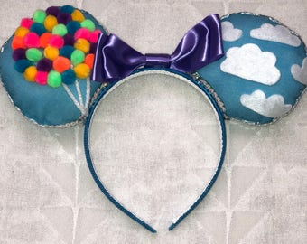 Up Inspired Minnie ears
