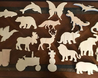 wood cut outs for crafts