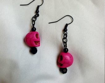 Hot Pink Skulls