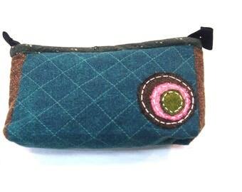 Clutch Bag,Zipper Clutch Bag, Phone wristlet, Boho Zipper Clutch, Bridesmaid gift, Boho Clutch bag,Leather Clutch,