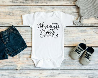 Pregnancy announcement to husband - Pregnancy announcement grandparents - Adventure awaits baby - Adventure awaits baby shower - New baby
