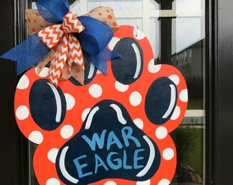War Eagle Paw