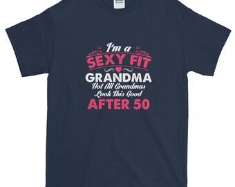 Funny Grandma Shirt, Fit Grandma, Over 50, Funny Grandma Gift, Gift For Grandma, Nana Shirt, Grandma Workout, Grandma Present