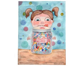 Sugar High // Jelly Beans // Illustration