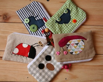 Handmade Original Design Coin Purse