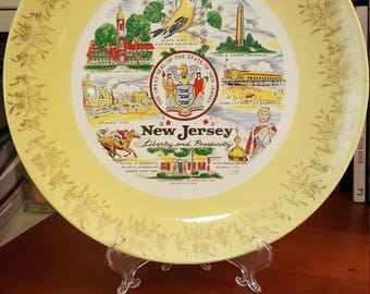 Vintage New Jersey State Plate.