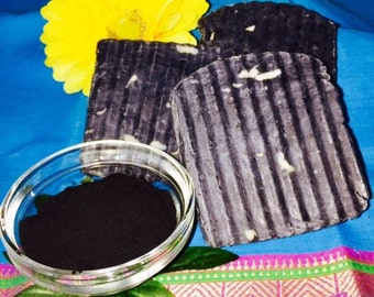 100% Natural handcrafted Acne Control Soap with Activated Charcoal
