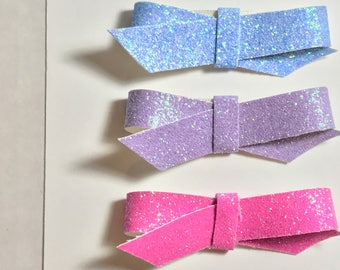 Fine Glitter Twists/Trio/Glitter/Hair Clips/Headband