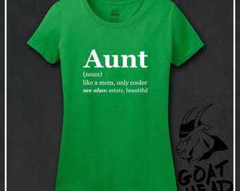Aunt Definition, Aunt Shirt, Aunt, Aunt Gifts, Auntie Shirt, Sister Gift, Family Tree, New Aunt Gift, Best Aunt Ever, Best Aunt, Tshirt