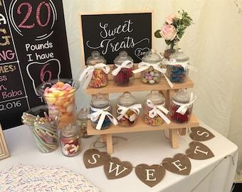 Sweet Treats Wedding Chalkboard