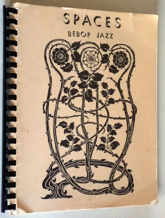 Spaces: Bepop Jazz 1970s Songbook Song Book Sheet Music