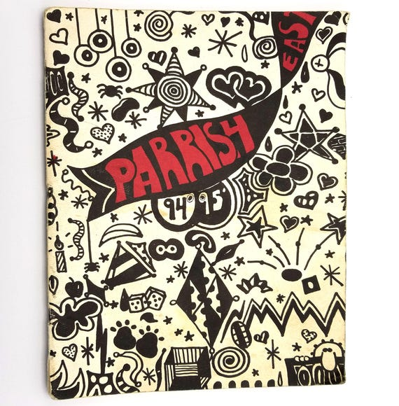 Parrish Middle School Yearbook - Parrish East '94-'95 Salem, Oregon OR Marion County 1995