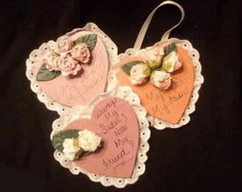 Sister Hanging Plaques