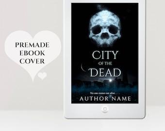 Premade eBook Cover - eBook Cover Design - Paranormal eBook Cover - Supernatural eBook Cover - Skull Cover  -  Kindle Cover