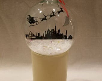 San Francisco Skyline Floating Ornament