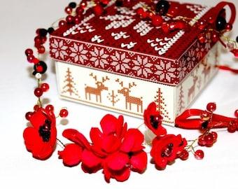 Diadem - Red blossom