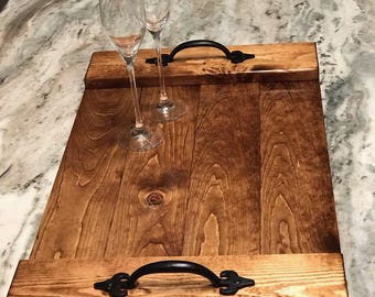 Classic Wood Serving Tray
