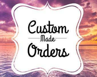 Custom Made Order Bracelet