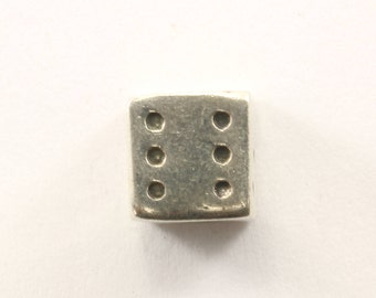 Vintage Dice Charm Sterling 925 CH 424