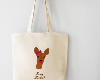 Sexy biche? Tote bag - Organic cotton