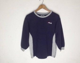 Vintage Fila Sweatshirts Size 160