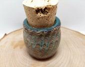 Glass Jar, Glass Art Jar, Handmade Jar, Stash Jar, Glass Stash Jar, Small Glass Jar, Collectible Jars, Handblown Jars, Glass Jar, Glass Art