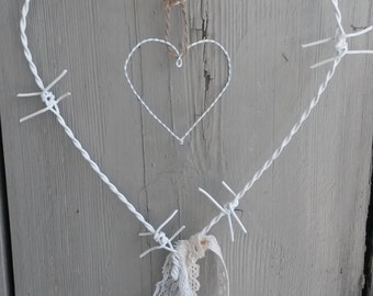Barbed wire white mobile --