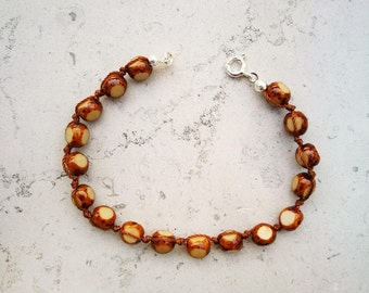 "Bracelet mixed ""Grana"" wood"