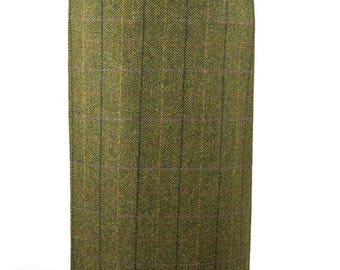 """Tailored Tweed 31"""" Skirt (Galloway Tweed)"""