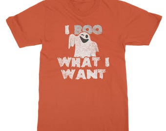 I Boo What I Want Funny Halloween T-Shirt