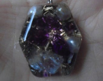 Orgone pendant, radiation protection, DNA repair Valentine's Day