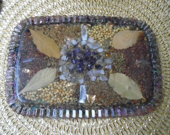 Orgone plate, activator, radiation protection, orgone battery