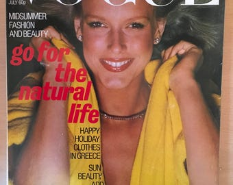 Vogue magazine July 1977